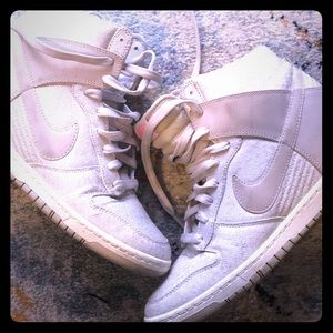 Nike Dunk sky hi wedge sneakers
